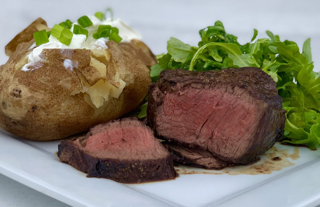 Restaurant Style Filet Mignon