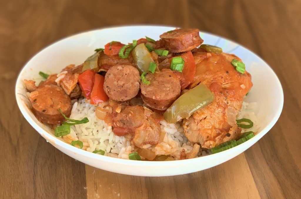 Cajun Jambalaya with Chicken and Andouille Sausage