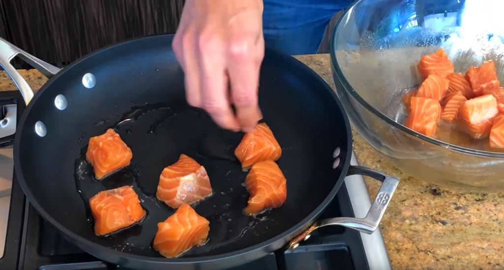 Salmon Stir Fry Recipe