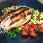 Tequila Lime Chicken Recipe with Corn Salsa