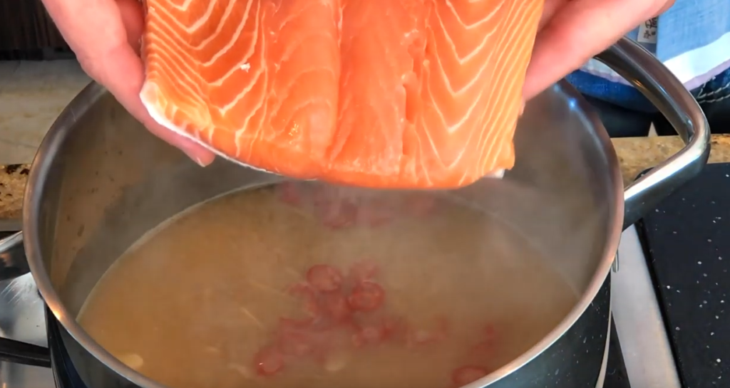 Miso Poached Salmon Recipe