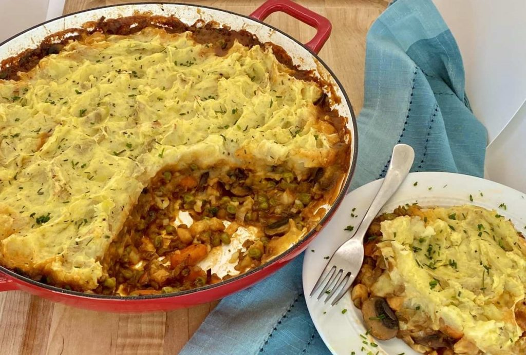 Healthy Vegan Shepherd's Pie Recipe