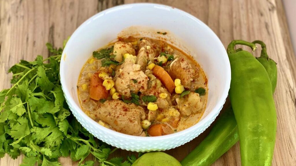 Hatch Chile Chicken Stew