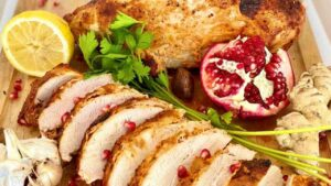 Spiced Yogurt Marinated Turkey Breast