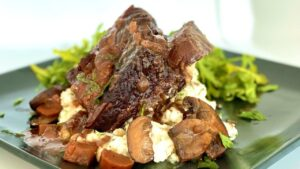 Braised Beef Short Ribs in Red Wine